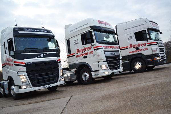 Current Fleet of Trucks